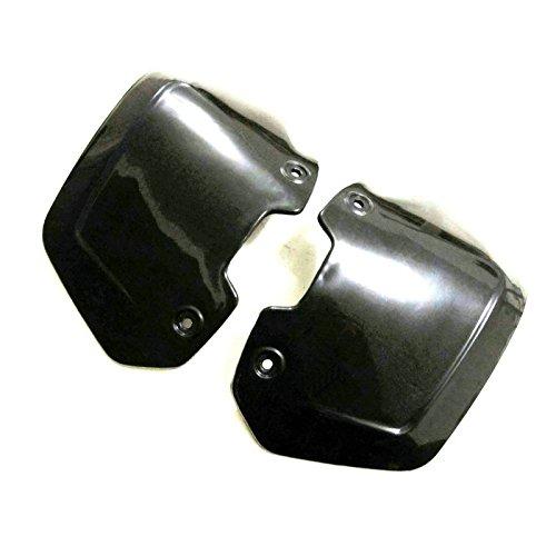 Heinmo Motorcycle Handguards Hand Guards Shield For Honda Yamaha Dirt Bike Windshield Wind Shield Black