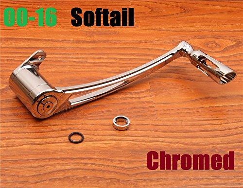 Deep Cut Motorcycle harley chrome Brake Arm lever harley softail brake lever fatboy heritage brake arm 00-16