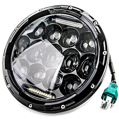 NEW 7 Motorcycle Projector Daymaker DRL For Harley-Davidson Light LED Headlight for Harley Davidson Fat Boy Lo FLSTFB 2010-2016