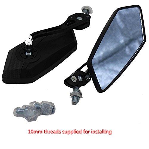 Mega Brands New Universal rear mirrors for Taotao Icebear Roketa Jonway Peace Sunny Scooter Moped Trike ATV Motorcycles