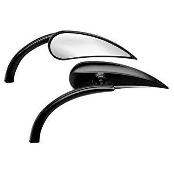 Arlen Ness Micro Mirror Black Rad II Teardrop left Side Mirror 13-400