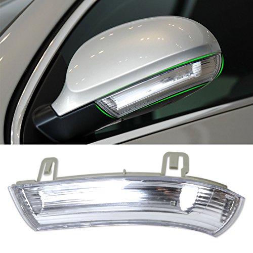 beler Left Side Mirror Indicator Turn Signal Light Lamp For VW Golf GTI Jetta MK5 Passat Rabbit Eos 1K0949101
