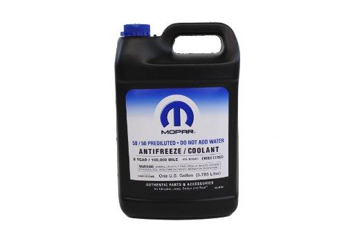 Genuine Chrysler Fluid 68051212AB 5050 Pre-Diluted AntifreezeCoolant - 1 Gallon Bottle