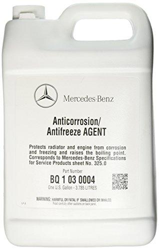 Mercedes Benz Engine Coolant  Antifreeze 1 Gallon BLUE Color