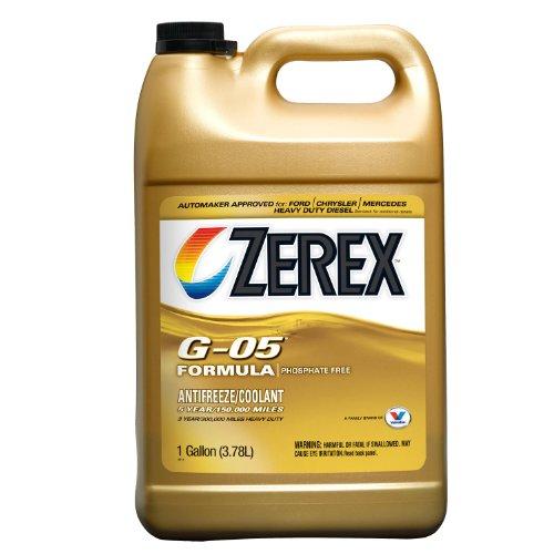 Zerex G-05 AntifreezeCoolant Concentrated - 1gal ZXG051