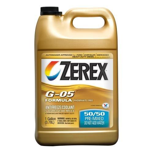 Zerex G-05 AntifreezeCoolant Ready to Use - 1gal ZXG05RU1