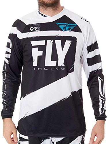Fly Racing Grey-Black 2018 F-16 Mx Jersey M  Black