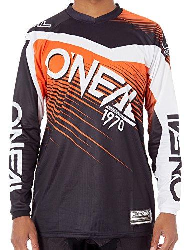 Oneal Black-Orange 2018 Element Racewear Mx Jersey L  Orange