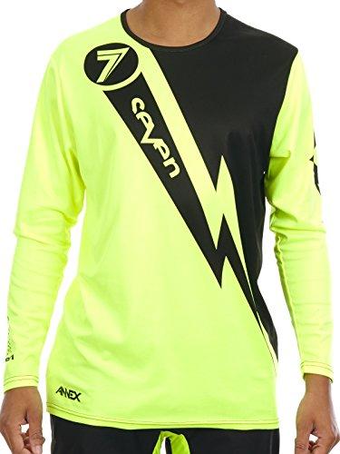 Seven Mx Fluorescent Yellow 2017 Annex Volt Mx Jersey S  Yellow