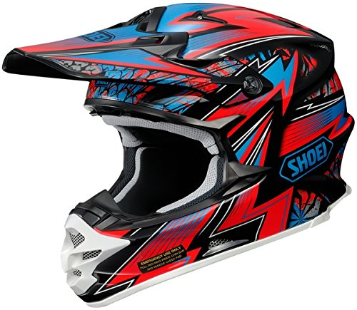 Shoei Maelstrom VFX-W MXOff-RoadDirt Bike Motorcycle Helmet - TC-1  Large