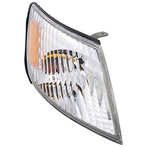CarPartsDepot LX2531108 Fit 00-01 Lexus Es-300 Sedan 4DR Front Right Side Signal Light Lamp