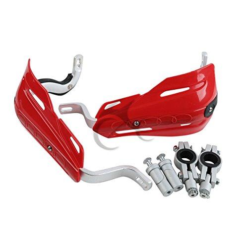TCMT Red Universal 78 22mm Handlebar Hand Brush Guard Handguards For Honda Kawasaki Yamaha Suzuki Dirt Bike ATVs MX KTM