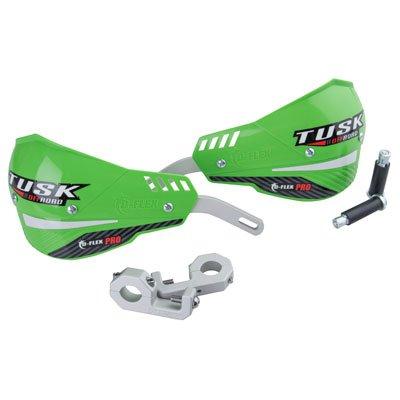 Tusk D-Flex Pro MX Handguards - GREEN - 1-18 Bars