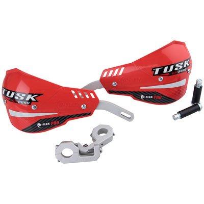 Tusk D-Flex Pro MX Handguards - RED - 78 Bars
