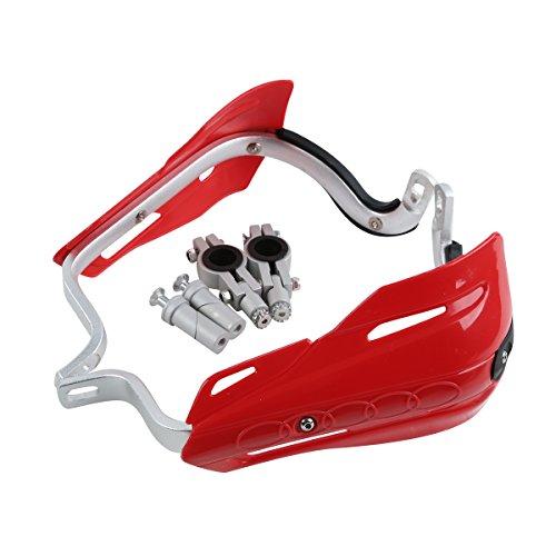 XFMT Motorcycle Red 7822m Universal Hand Guards Brush Bar Handguards For Honda Kawasaki Yamaha Suzuki Dirt Bike ATVs MX KTM