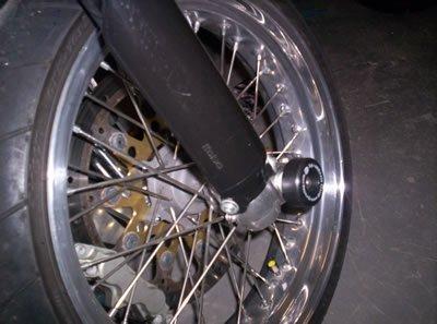 R&G Axle Sliders front YZFWR 250 thru 450 NOT WR450F 13-  GasGas 125 250 450