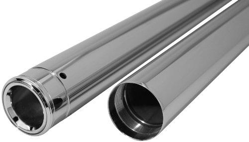 Dew Manufacturing 39mm 2825in Show Chrome Fork Tubes for Harley Davidson 1987
