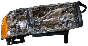 TYC 20-3016-78 Dodge Passenger Side Headlight Assembly
