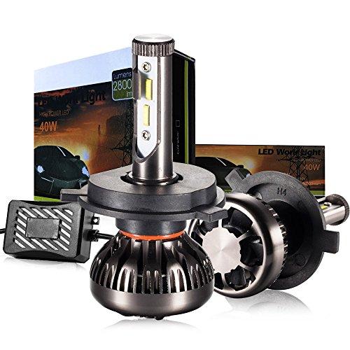 H4 LED Headlight Bulb 6000k White LED Car Headlights H4 LED Bulb Conversion Kit H49003 - 3 Yr Warranty