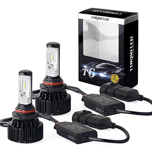 LEDKINGDOMUS 9006 HB4 Cree LED Headlight Bulbs 80W Fog Light Bulbs Headlamps Conversion Kit 8000 Lumen 6000K Cool White