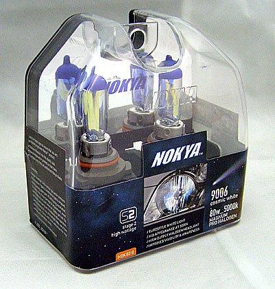 Nokya Magnum Cosmic White 9006 Headlight Bulb 5000K