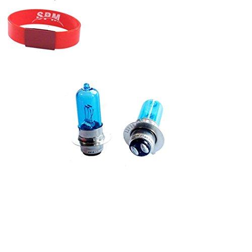SPM Super White Headlight Bulb Lamp for Yamaha YFM250 Bear Tracker Raptor YFB250 Timberwolf 250 TTR250 Xenon Bulb