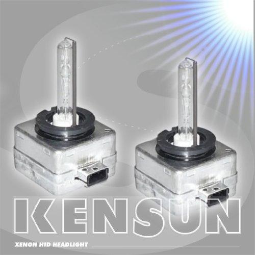 Kensun HID Xenon Brilliant Low Beam Headlight Replacement Bulb - Pack of one bulb - - D1R - 12000K