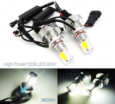 LEDIN 9006 HB4 High Power COB LED HL Low Beam Headlight Bulb 7600lm 60W White