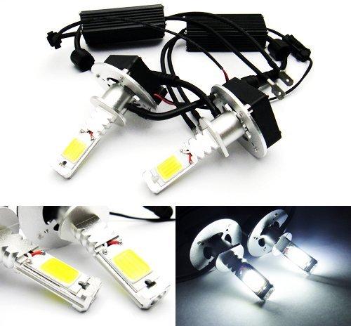 LEDIN A Pair of H1 High Power COB LED HL Low Beam Headlight Bulb Xenon Whitet 3200lm 40W