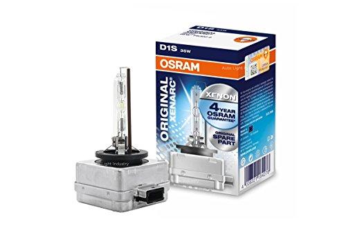 OSRAM XENARC D1S HIDXENON Headlight bulb 66144 - Pack of 1