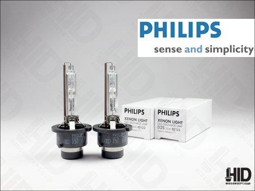 Philips D2S Xenon HID Headlight Bulb Pack of 2