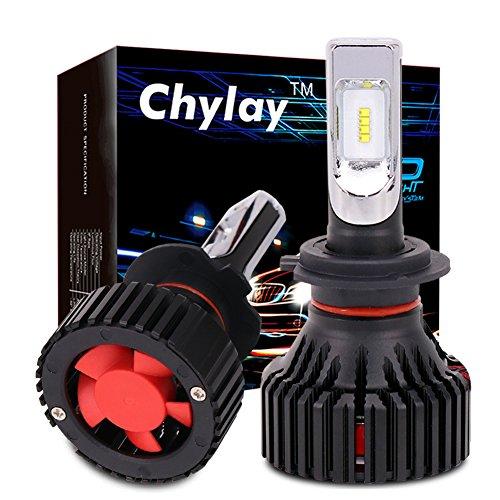 Chylay H7 Led Headlight bulbs All-in-one Conversion Kit ZES Chips 6500K 60W 8000LM Automobile Car Headlamp fog light lamp