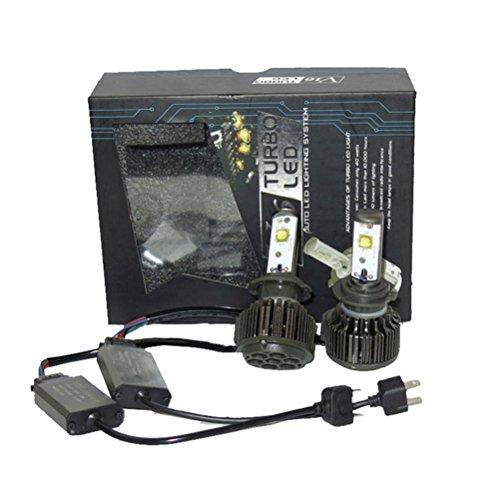 LEORX V16 H7 LED Headlight Conversion Kit Car Replacement Fog Head Light Lamp Bulb