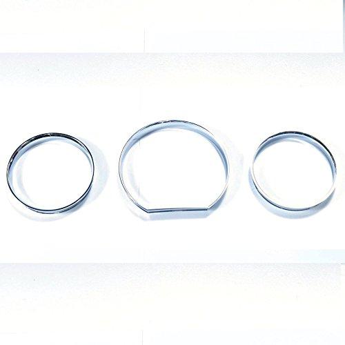 《 BAR Autotech 》 Mercedes Benz W124 E class 85-95 Chrome Gauge Cluster Dashboard Ring