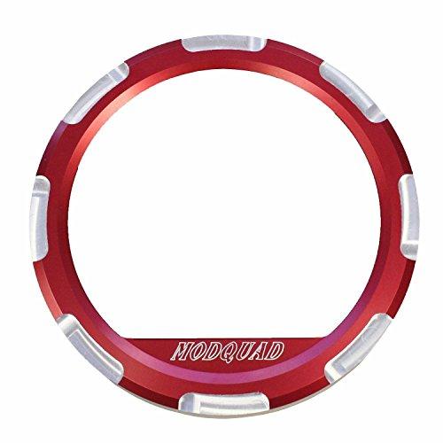 Modquad Red Dash Gauge Bezel Polaris RZR