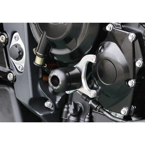 Sato Racing Right Engine Slider for 2013 Triumph Daytona 675 675R T-67513ESR-BK