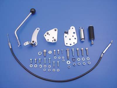 V-Twin 21-0116 - Jockey Pedal Kit Chrome
