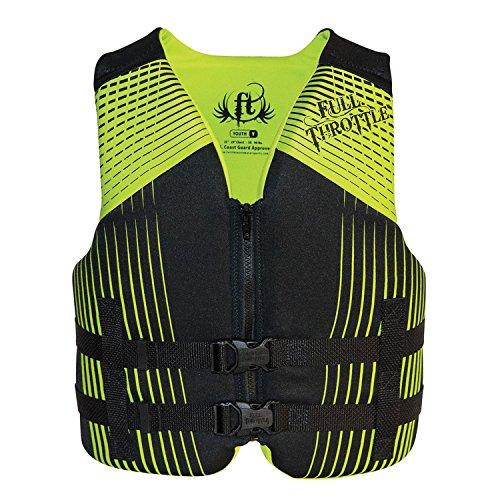 Full Throttle 142100-700-002-16 Youth Rapid-Dry Vest