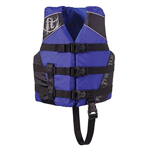 Full Throttle Child Watersports Vest - BlueBlack