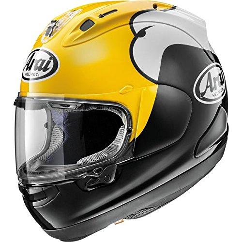 Arai Corsair-X KR-1 Yellow Motorcycle Helmet LG