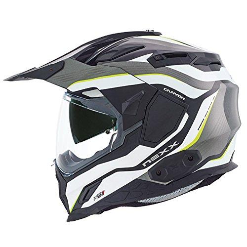 Nexx XD1 Canyon Neon Yellow Motorcycle Helmet L