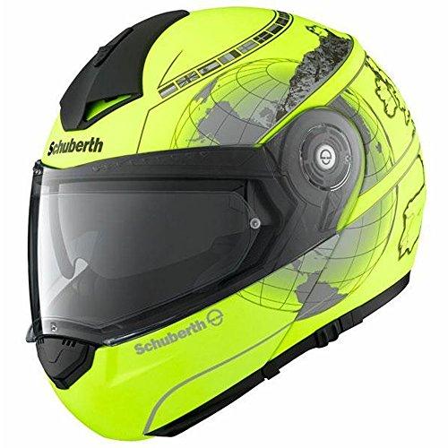 Schuberth C3 Pro Europe Yellow Motorcycle Helmet