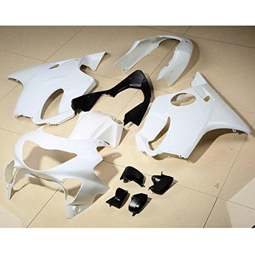 XMT-MOTO ABS Fairing Bodywork Set For Honda CBR600 F4 CBR 600 1999-2000Unpainted White1 Set
