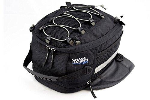 Chase Harper 650M Black Magnetic Sportbike Tank Bag - 95 Liters