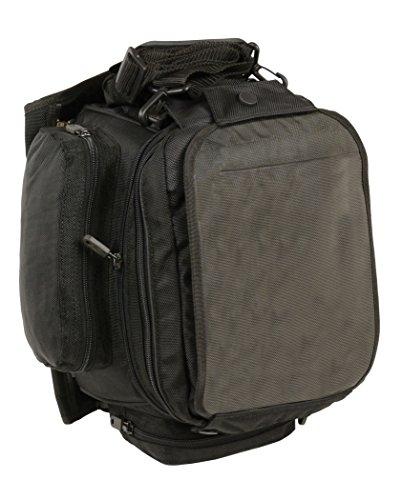Milwaukee Leather SH697-BLK-PCS Black Large Nylon 1680D Magnetic Tank Bag