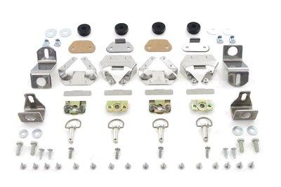 V-Twin 49-0874 - Saddlebag Stud and Hardware Kit