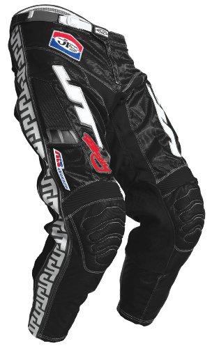 JT Racing USA Dirt Bike MX Motocross Pants BlackWhite 32
