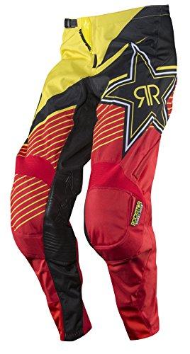MSR Racing M15 Rockstar Mens MX Motorcycle Pants - YellowBlack  Size 34