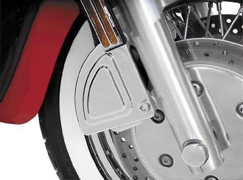 Show Chrome Front Brake Caliper Cover - Left Side 55-107L