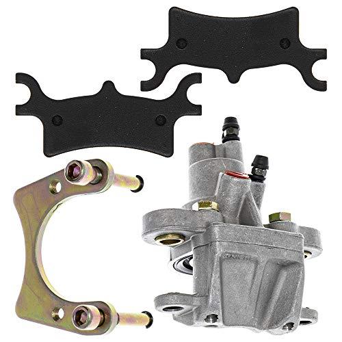 NICHE Rear Brake Caliper Pads Mounting Bracket For 2005-2013 Polaris Scrambler Trail Blazer 330 500 1911075 1911478
